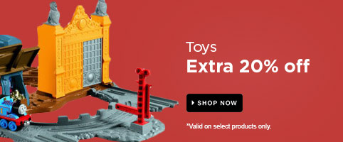 Toys: Extra 20% off